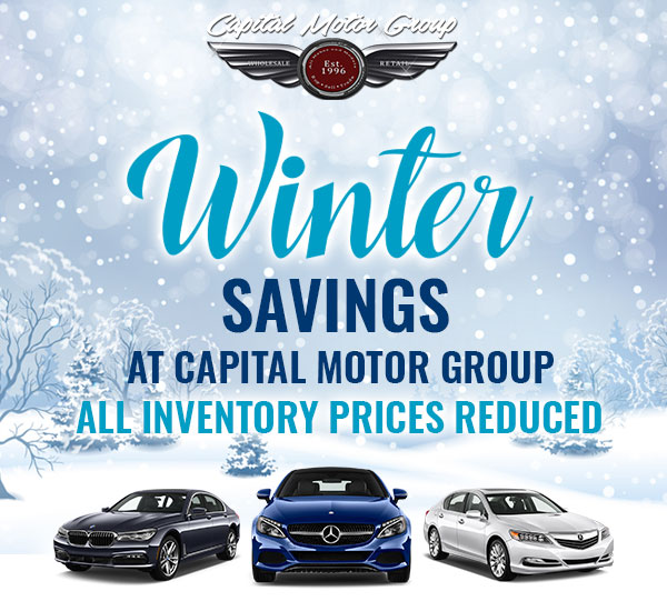 Winter Savings at Capital Motor Group